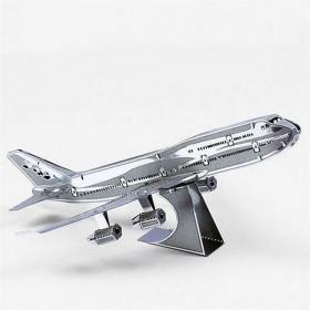 """3D модель из металла """"Боинг 747"""""""