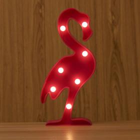 "3Д светильник ""Фламинго"""