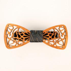Деревянная бабочка-галстук 01