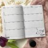 """Щоденник майстра краси косметолога """"М'ятні квіти"""""""
