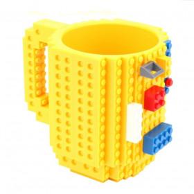 Чашка Lego + конструктор (разные цвета)