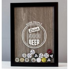 Копилка для пивных крышек Good Beer