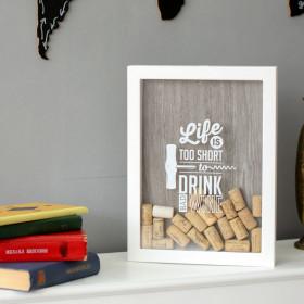 Копилка для винных пробок Live Wine