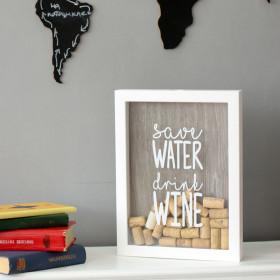 Копилка для винных пробок Save Water - Drink Wine