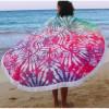 """Пляжний килимок, рушник """"Акварель"""", мікрофібра"""