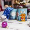"""Новогодние носки в консервной банке """"Олень. Веселих свят"""""""